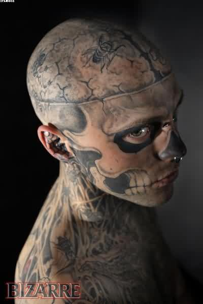 Zombie Tattooed Guy
