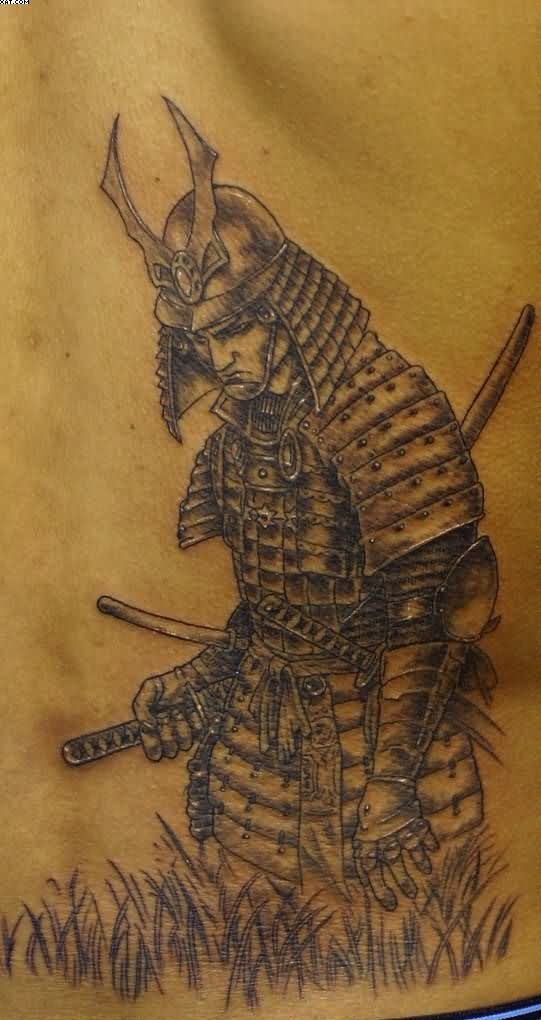 Fabulous Warrior Tattoo For Men