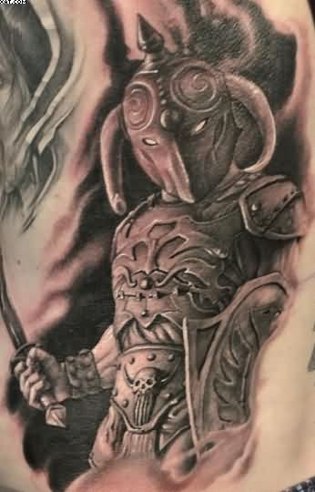 Fantastic Warrior Tattoo