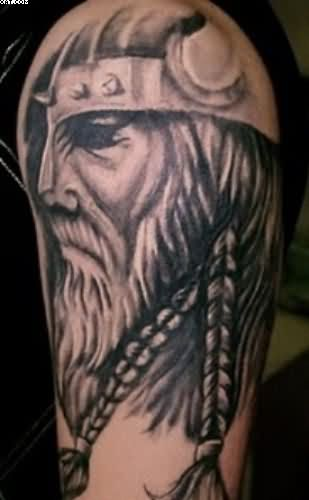 Half Sleeve Viking Tattoo