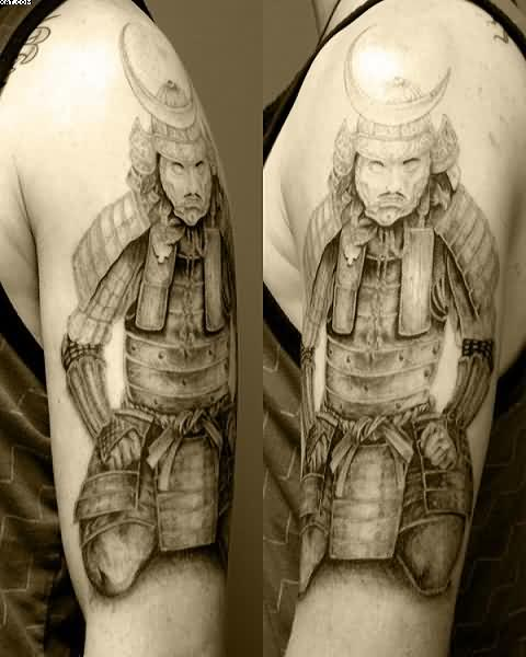 Japanese Samurai Warrior Tattoos