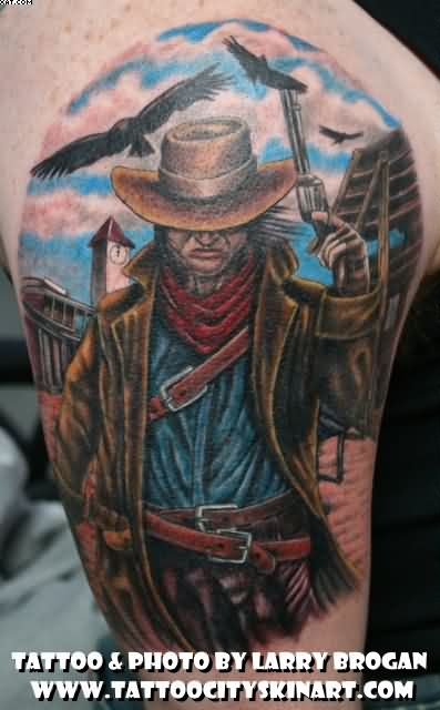 Old Western Tattoo