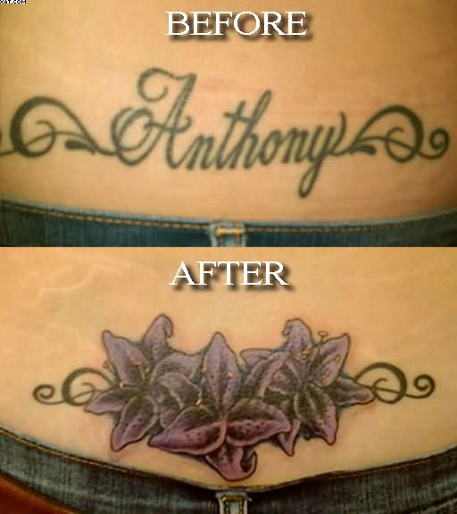 Tattoos Cover Up Waist