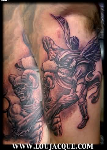 Warrior Fight Tattoos