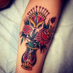 A Very Beautiful Traditional Tattoo