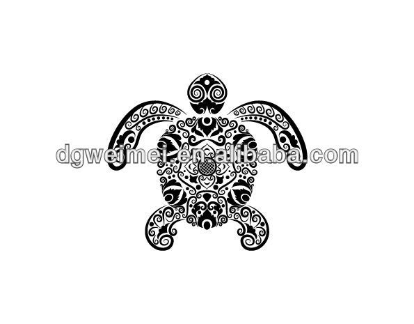 Again Polynesian Turtle  Tattoo Design