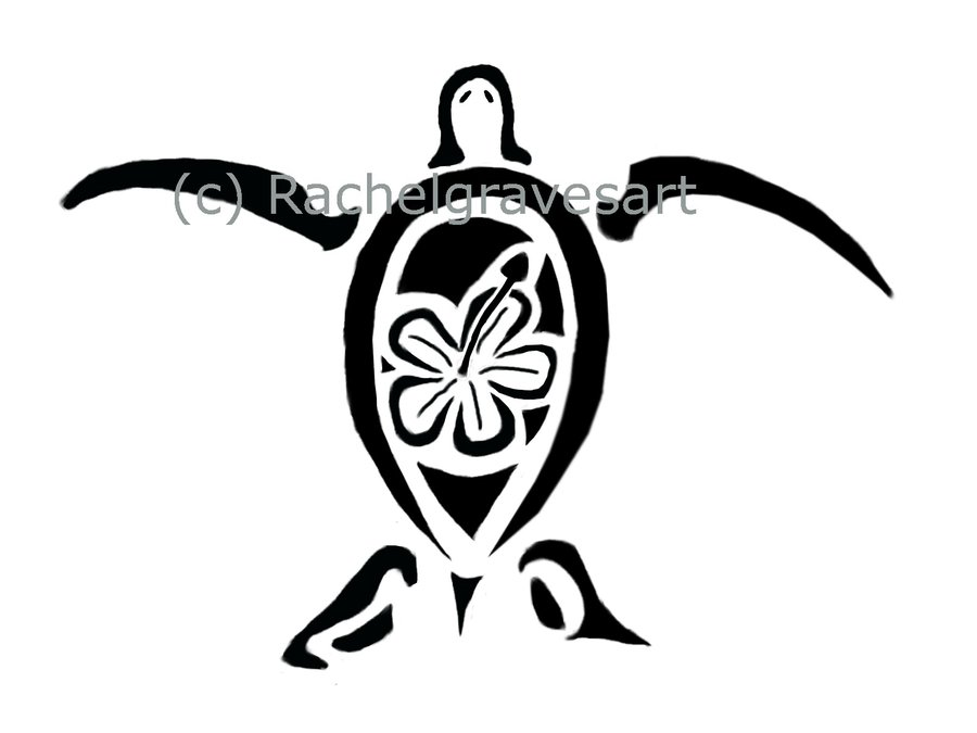 Again Sea Turtle Turtle Tattoo Design