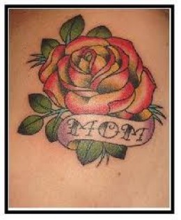 Amazing Mom Rose Tattoo Photo