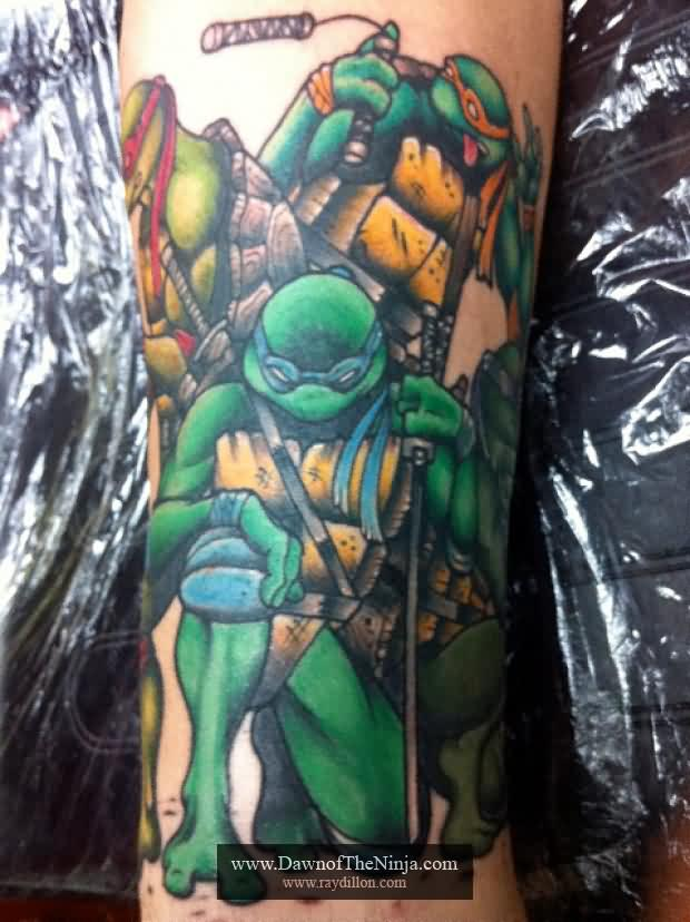 Amazing Ninja Turtles Tattoos