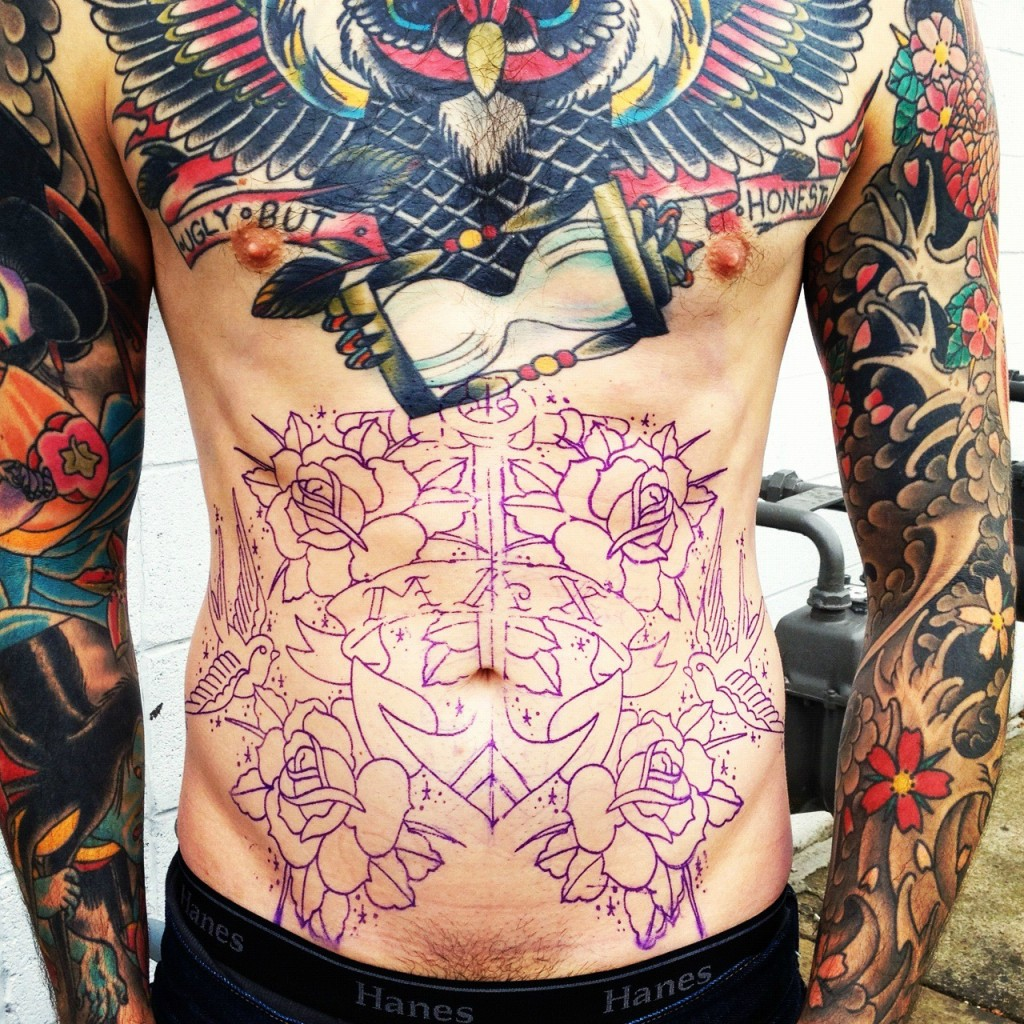 Amazing Traditional Tattoos On Whole Body
