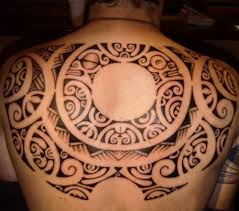 Awesome Polynesian Tribal Tattoo For Men