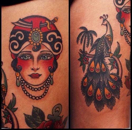 Beautiful Traditional Tattoos