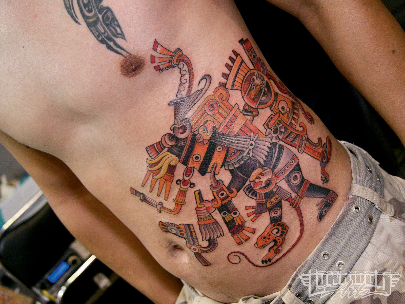 Best Neo Traditional Tattoos On Stomach
