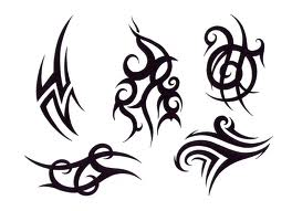 Black Ink Tribal Tattoos Pack