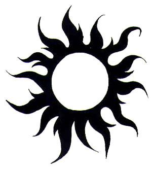 Black Sun Tattoo Version