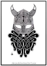 Celtic Viking Helmet Tattoo Picture