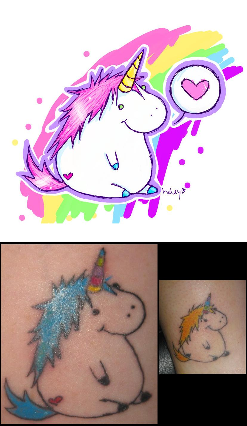 Unicorn Tattoos Designs And Ideas Page 67