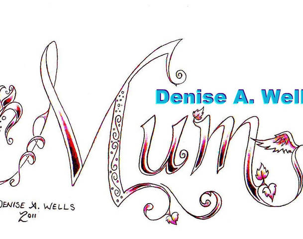 Denise  A. Well Mum Tattoo Design
