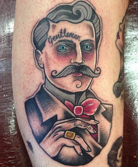 Gentleman Traditional Tattoo