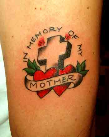In Memory Of My Mother Tattoo