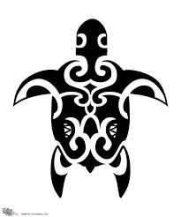 Latest Maori Turtle Tattoo Design