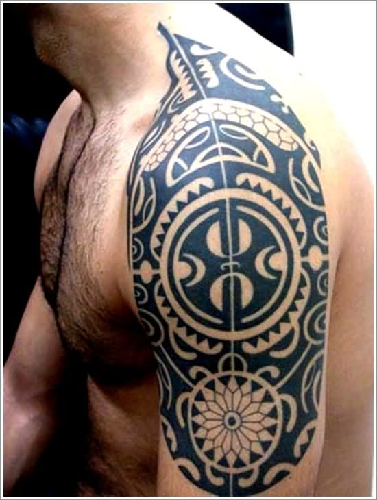 Maori Tribal Tattoos For Men On Sleeve