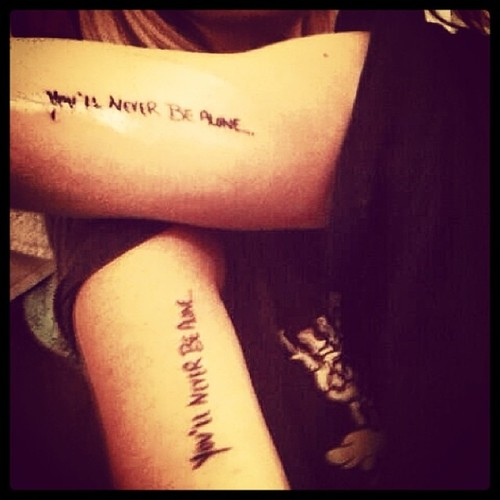 Mother Daughter Quotes Tattoos On Arm