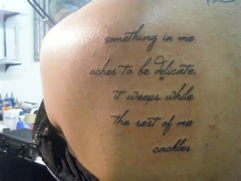 Mother Daughter Quotes Tattoos On Back Shoulder