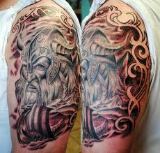 New Viking Half Sleeve Tattoos