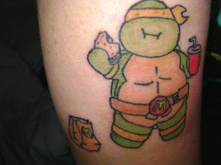 Ninja Turtle Tattoo