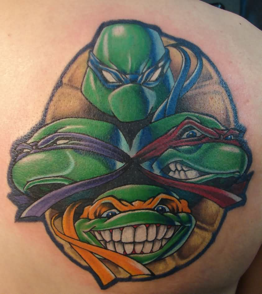Ninja Turtles Tattoos For Men