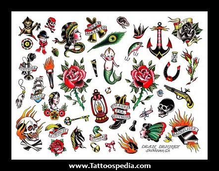 Old School Traditional Tattoo Collection