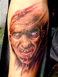 Scary Vampire Tattoo For Your Arm