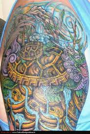 Sea Turtle Sleeve Tattoos