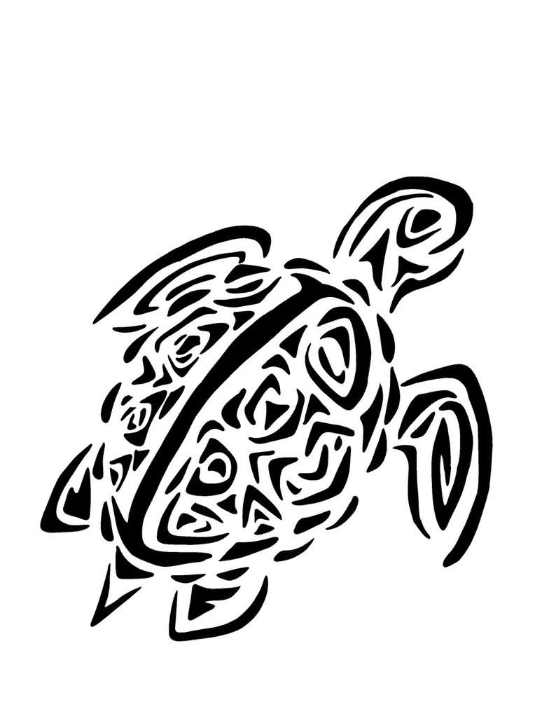 Sea Turtle Turtle Tattoo Design