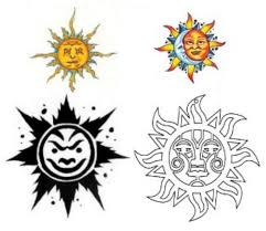 Sun Tattoos Pack