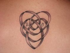 Superb Motherhood Knot Tattoo