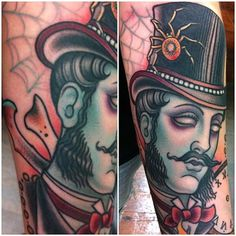 Traditional Gentleman Tattoos