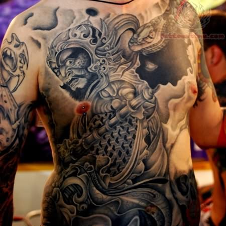 Traditional Japanese Tattoos On Front Body