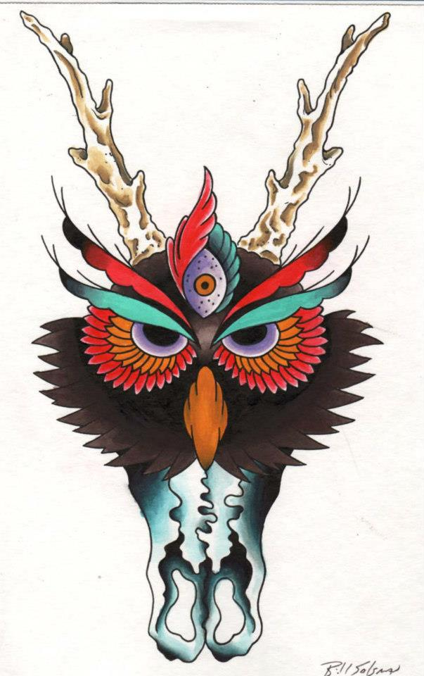 Traditional Tattoo Painting