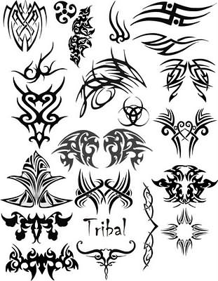 Tribal Gothic Tattoo Designs