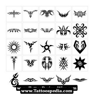 Tribal Sun Tattoo Gallery