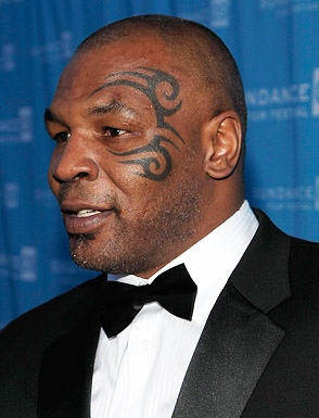 Tribal Tattoo On Celebrity Face