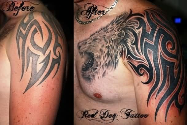 Tribal Tattoo Stages
