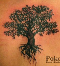 Truly Awesome Tree Tattoo