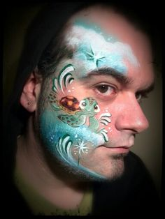 Turtle Face Paint Tattoo