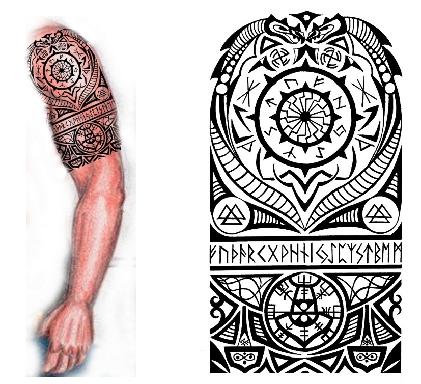 More Tattoo Images Under: Viking Tattoos