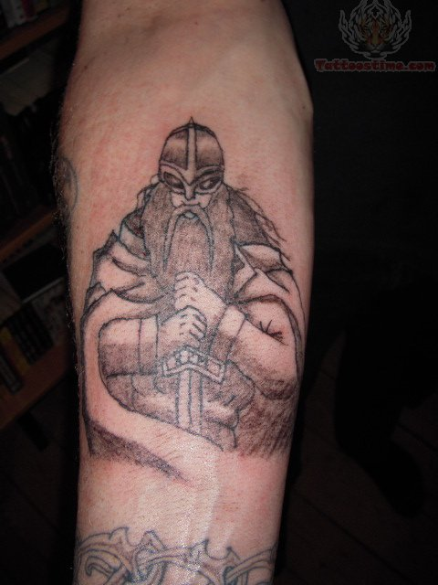 Viking Tattoo For Arm