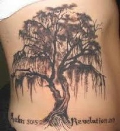 Willaw Tree Tattoo For Waist