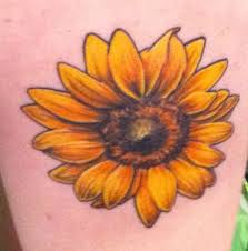 Yeah Sunflower Tattoo